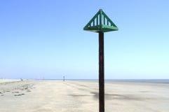 Västra Wittering strand Royaltyfria Foton