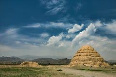 Västra Xia mausoleer Royaltyfri Bild