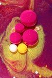 vätskeoljemålarfärg Royaltyfria Bilder