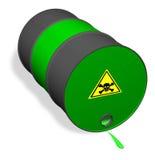 vätskespillt giftigt vektor illustrationer