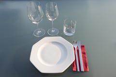 väv för vektor för tegelplattor för tablecloth för sked för silhouettes för inställning för restaurang för tillgänglig för bakgru royaltyfri bild