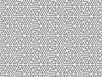 VÄVA SAMMAN DEN SÖMLÖSA VEKTORMODELLEN TESSELATION GJORDE RANDIG TEXTUR vektor illustrationer