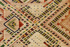 vävd bakgrundshandlaos textil royaltyfri fotografi