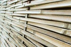 Vävd bambu Arkivfoto