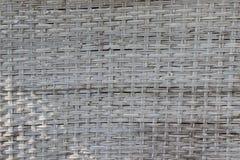 vävd bambu Arkivfoton