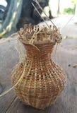 vävd bambu Royaltyfri Bild