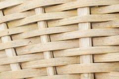 vävd bambumodell royaltyfri illustrationer