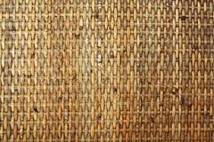 vävd bambumodell Arkivbilder