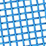 vävd blue 3d Fotografering för Bildbyråer
