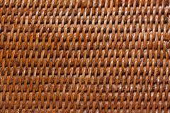 vävd wood bakgrund Royaltyfri Bild