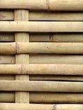 vävt bambustaket Royaltyfri Bild