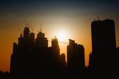 Växande Dubai royaltyfria bilder