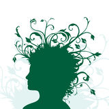 växande head mänskliga växter Fotografering för Bildbyråer