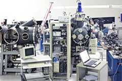 Växelverkankammare på PALSlaser-systemet Royaltyfri Foto
