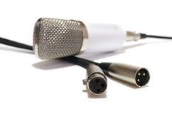 Växling och mikrofon royaltyfri foto