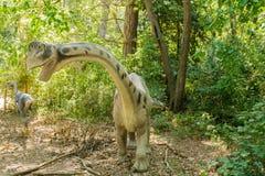 växtätande dinosaur Arkivbilder