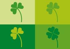 växt av släkten Trifoliumdagpatrick s saint vektor illustrationer