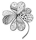 Växt av släktet Trifolium Royaltyfria Foton