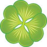 Växt av släktet Trifoliumsymbol Royaltyfri Fotografi