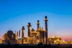 Växt för elkraft för gasturbin royaltyfri bild
