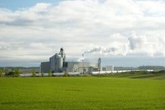 växt för ethanol 2 Arkivbilder