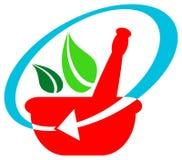 växt- logo stock illustrationer