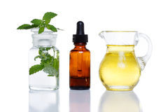 Växt- medicin arkivbild