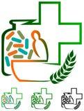 Växt- mediciner Arkivfoto
