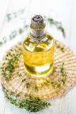Växt- nödvändig olja Arkivfoto