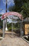 Växt på produktion av Appleton rom på oktober 29, 2011 i Jamaica Arkivfoton