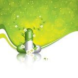 Växt- pill Royaltyfri Foto