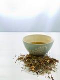 växt- tea arkivfoto