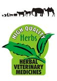 växt- veterinär- logoläkare Arkivbilder