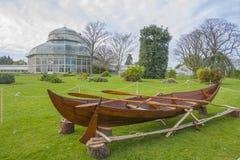 Växthus i de nationella botaniska trädgårdarna royaltyfri foto