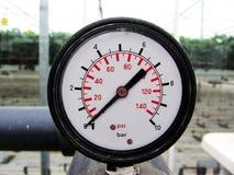Växthusbarometerkas Royaltyfri Fotografi