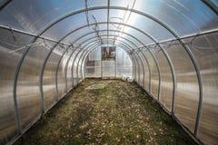 Växthuset, innan att plantera Royaltyfria Bilder