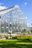 Växthusexponeringsglas Royaltyfri Foto