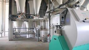 Växtutrustning för sammansatt matning lager videofilmer