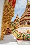 Våg av Nagastatyn på Buddha för främre ingång reliker Fotografering för Bildbyråer