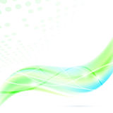 Våg för swoosh för modern abstrakt begreppgräsplan ny Arkivfoto