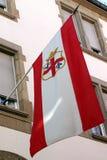 Våg flagga Fotografering för Bildbyråer