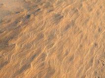 Våg- och sandgräns Royaltyfri Bild
