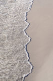 Våg på sanden Arkivbild