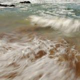Våg på stranden Royaltyfri Foto