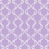Vågbakgrund för söt violet Royaltyfri Foto