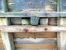 Vågbrytare på ostkusten Arkivfoto