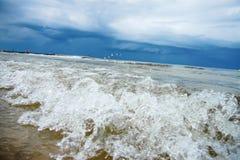 Vågor av havet Royaltyfria Foton