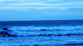 Vågor av havet Arkivfoto