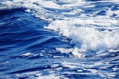Vågor av Stilla havet arkivfoton