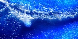 Vågor av vatten royaltyfri illustrationer